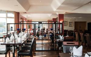 A restaurant or other place to eat at Urban Hotel Grantham