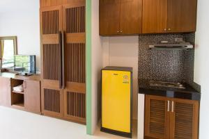 A kitchen or kitchenette at Samui Honey Suite