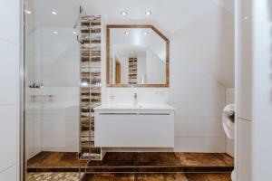 Koupelna v ubytování Apartment Altstadtflair