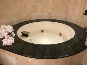 A bathroom at Hollywood Hotel - The Hotel of Hollywood Near Universal Studios