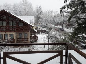 Апартаменты Аибга зимой