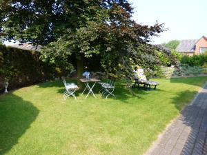 A garden outside Karstens Gasthof