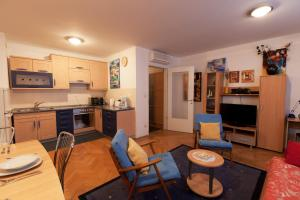 A kitchen or kitchenette at Apartment Irena