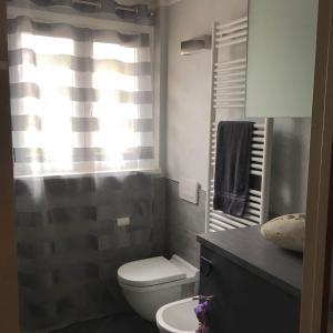 A bathroom at A casa di Romeo