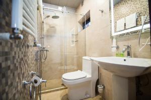 Ванная комната в Milano Palace Borjomi