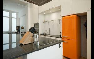 Een keuken of kitchenette bij Apartment Pacific
