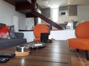 The lobby or reception area at El Cortijo Luxury