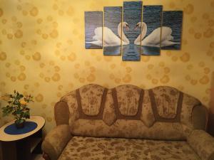 Гостиная зона в Апартаменты на Вихрева, 82