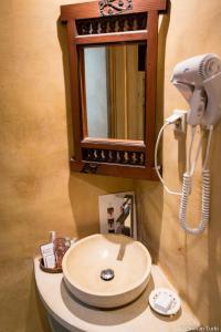 A bathroom at Dar Saida Beya