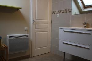 A bathroom at L'Etape