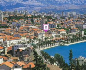 A bird's-eye view of Hotel Slavija