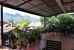 Un balcón o terraza de Nice view guesthouse