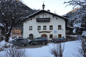 Alte Schmiede v zimě