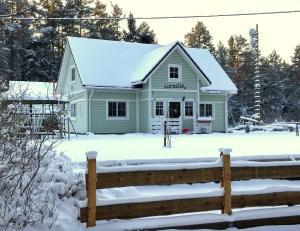 Country Home Cornelia in de winter
