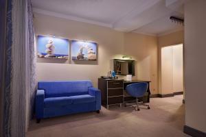 Гостиная зона в Арт-Отель