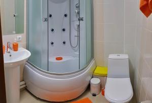 Ванная комната в Гостевой Дом Пурга