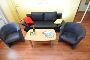 A seating area at Villa Seerose - Appartement 15