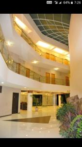 The lobby or reception area at Hotel Starvilla Mount Abu