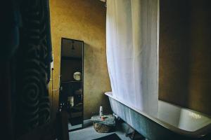 Ein Badezimmer in der Unterkunft Blickinsfreie