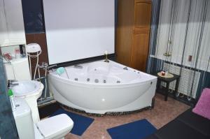 Ванная комната в Апартамент Тверская17 Центр.