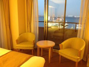A seating area at Star Hotel Yokohama