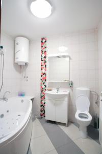 Kupatilo u objektu Guest House MK Star