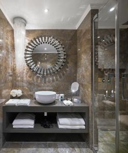 A bathroom at PALOMA Průhonice