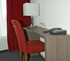 A kitchen or kitchenette at Hotel Bonaventure