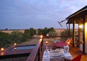 A restaurant or other place to eat at Olare Mara Kempinski