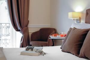 Area soggiorno di La Fontanina Suites