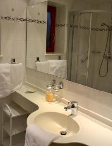 Ein Badezimmer in der Unterkunft Hotel garni Fuchs