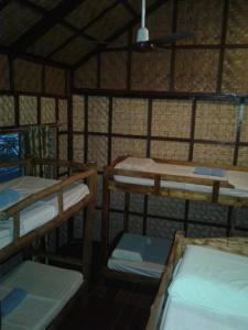 A bunk bed or bunk beds in a room at Chelle's Guesthouse and Backpackers
