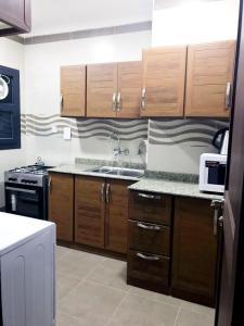 مطبخ أو مطبخ صغير في Arkan Residence