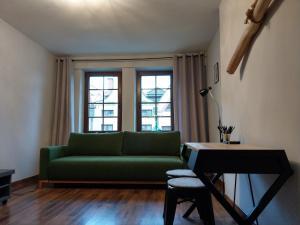 Część wypoczynkowa w obiekcie Oficyna Form - Apartament Dwupoziomowy