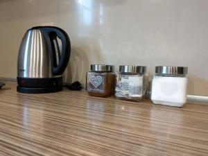 Zestaw do parzenia kawy i herbaty w obiekcie Oficyna Form - Apartament Dwupoziomowy