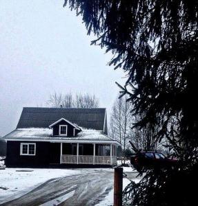 Гостевой дом during the winter