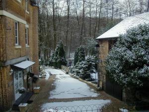 L'établissement Hotel Ermitage du Moulin Labotte en hiver