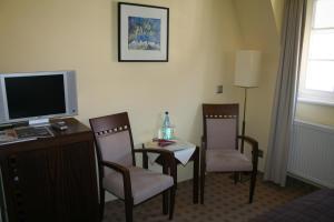 TV/Unterhaltungsangebot in der Unterkunft Hotel Merian