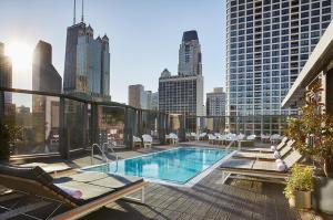 The swimming pool at or near Viceroy Chicago