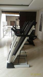 The fitness center and/or fitness facilities at Ohana Hotel Kuta
