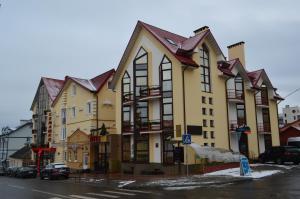 Semashko Hotel v zime
