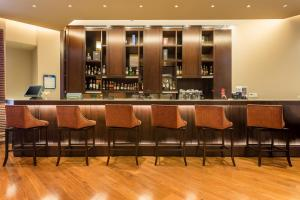 The lounge or bar area at Casa Dann Carlton Hotel & SPA