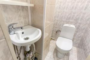 Ванная комната в RentalSPb on Soviet street