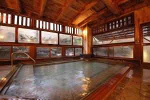 The swimming pool at or close to Matsukaneya Annex