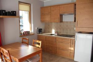 Kuchnia lub aneks kuchenny w obiekcie Apartament Rodzinny