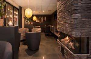 The lounge or bar area at Best Western Hotel City Gavle