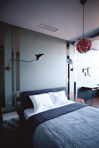 Кровать или кровати в номере BonApartments