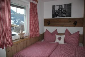 Ein Bett oder Betten in einem Zimmer der Unterkunft Apart Silvana