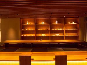 The lobby or reception area at UAN kanazawa