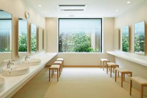 A bathroom at Mitsui Garden Hotel Kashiwa-No-Ha